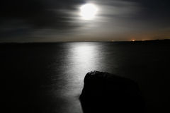 Mer de nuit Photo stock