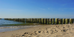 mer de plage Images libres de droits