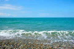 mer de plage Image stock