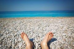 mer de plage tropicale Image stock