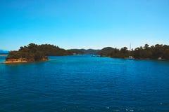 mer de plage tropicale Photo libre de droits