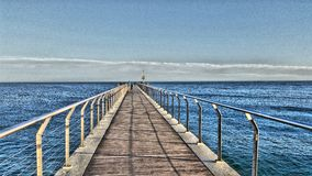 Mer de pont Image libre de droits