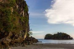 Mer de province de thailandKrabi Photographie stock libre de droits