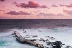Mer de Purpled Images stock