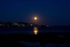 Mer de Rhodos Grèce Photo libre de droits