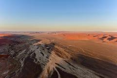 Mer de sable de Namib - Namibie Photo stock