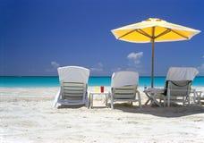 Mer de sable de Sun Photo libre de droits