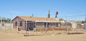 Mer de Salton : Abandonné à la maison Photos libres de droits