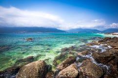 Mer de sud de la Chine Photo libre de droits