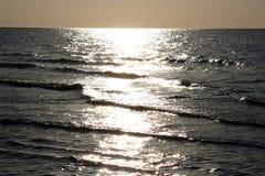 Mer de Sun Images stock