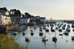 Mer del en del ile de la belleza en Bretaña Foto de archivo libre de regalías