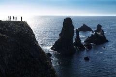 Mer del en del ile de la belleza en Bretaña Fotografía de archivo libre de regalías