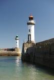 Mer dell'en del ile della reginetta in brittany Fotografia Stock Libera da Diritti