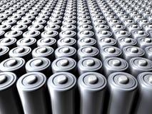 Mer des batteries Photographie stock libre de droits