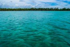Mer des Caraïbes Photo libre de droits