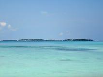 Mer des Maldives Photographie stock