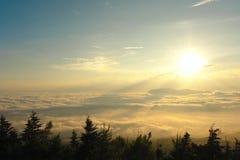 Mer des nuages Photo libre de droits