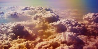 Mer des nuages Photos stock