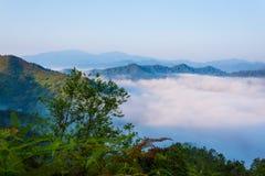 Mer des nuages Image libre de droits