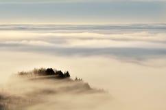 Mer des nuages Images stock