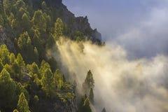 Mer des nuages Photographie stock