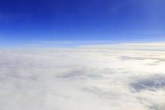 Mer des nuages Image stock