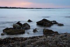 Mer du sud de l'Italie Photographie stock libre de droits