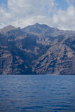 Mer EL-Teide Image libre de droits