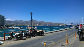 Mer en Crète Images libres de droits
