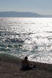 Mer en Croatie Photos stock