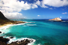 Mer en Hawaï Photo libre de droits