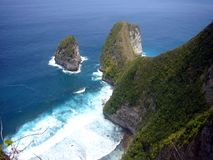 Mer et île Image libre de droits