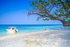 Mer et ciel bleu Photos libres de droits
