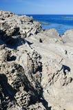 Mer et falaise 10 Photographie stock
