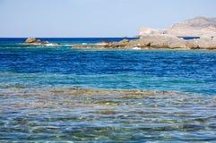 Mer et falaise 11 Image libre de droits