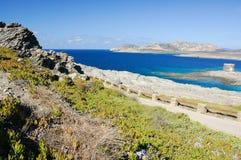 Mer et falaise 3 Image libre de droits