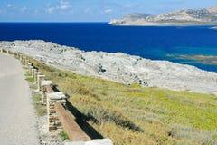 Mer et falaise 5 Photo stock