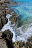 Mer et falaise 8 Photo libre de droits