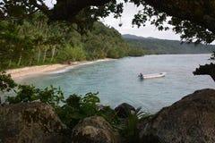 Mer et forêt Photographie stock libre de droits