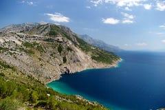 Mer et montagnes image libre de droits