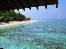 Mer et nature dans un paradis photographie stock libre de droits