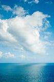 Mer et nuages Images libres de droits
