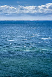 Mer et nuages Photo stock