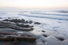 Mer et nuages Photo libre de droits