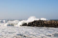 Mer et nuages Photographie stock libre de droits