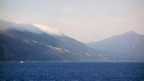 Mer et paysage, île grecque de Leucade, Grèce image libre de droits