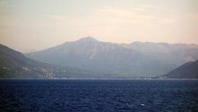 Mer et paysage, île grecque de Leucade, Grèce photographie stock libre de droits