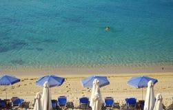 Mer et plage Photos libres de droits