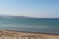Mer et plage Photo libre de droits