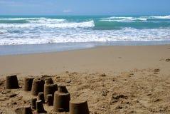 Mer et sable Photo stock